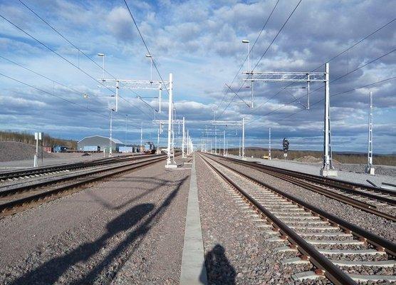 Kiruna rails
